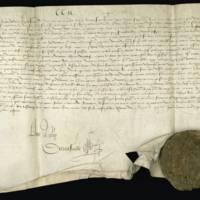 [Lettres patentes de François Ier confirmant le privilège de l'apetissement du vin accordé par Louis XII aux habitants d'Amboise]