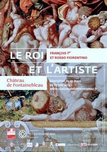 """Affiche de l'exposition """"Le Roi et l'Artiste"""""""