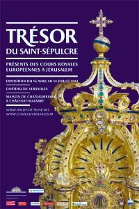 """Affiche de l'exposition """"Trésor du Saint-Sépulcre"""""""