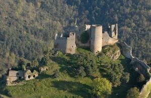 Le château de Couzan