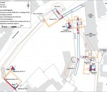 Figure 3 : Plan du bilan des découvertes en 2012 et 2013