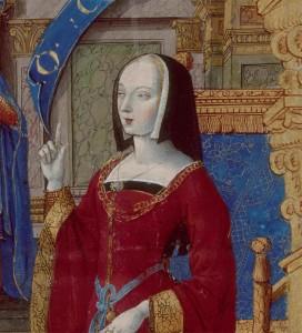Illustration représentant Anne de Bretagne