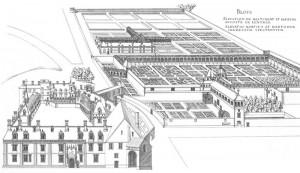 Plan du château de Blois
