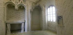 Oratoire de la reine Anne de Bretagne à la cité royale de Loches.