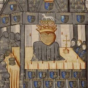 Illustration représentant le reliquaire d'Anne de Bretagne