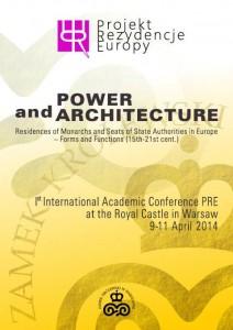 Affiche de la conférence 'Power and Architecture'