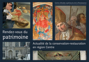"""Affiche de """"Actualités de la conservation-restauration en région Centre"""""""