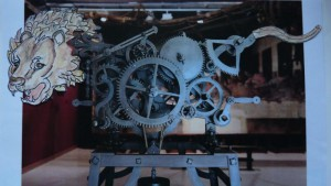 Reconstitution du lion mécanique de Léonard de Vinci